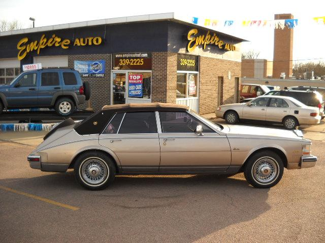 1985 cadillac seville 1401 s minnesota sioux falls sd 57105 used cars for sale. Black Bedroom Furniture Sets. Home Design Ideas