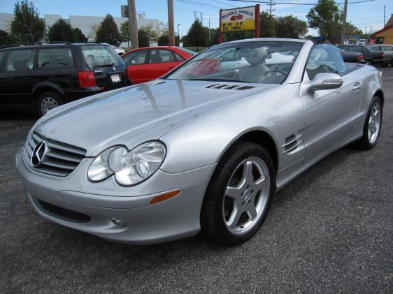 2003 Mercedes-Benz SL-Class SL500 - WEST CHICAGO IL