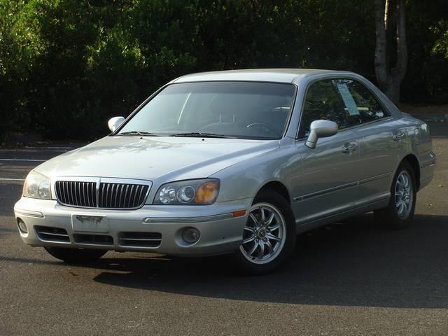 2002 hyundai xg350 4dr sedan l general exterior