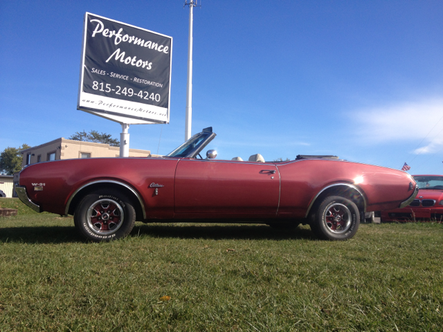 1969 Oldsmobile Cutlass Convertible S - North Aurora IL