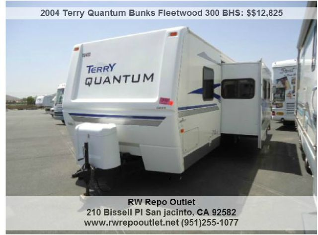2004 Terry Quantum Bunks Fleetwood 300 BHS