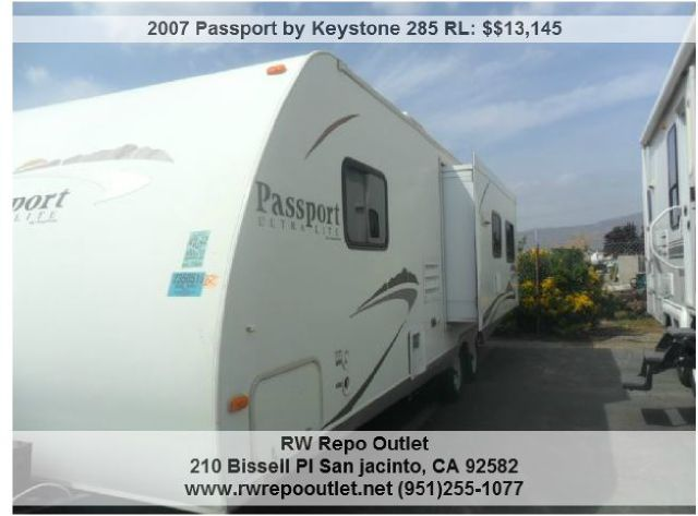 2007  Passport by Keystone  285 RL