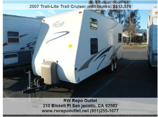 2007 Trail-Lite Trail Cruiser with bunks