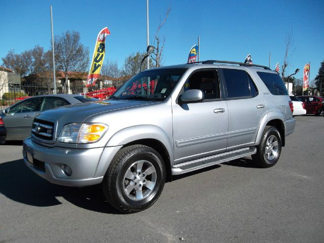 2001 TOYOTA SEQUOIA LIMITED 4WD gray -financing available we accept trade-inswe accept visa ma