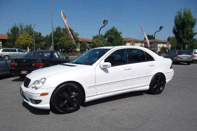 2005 MERCEDES-BENZ C-CLASS C230 K SPORT SEDAN white -this is truly a clean and original mercedes w