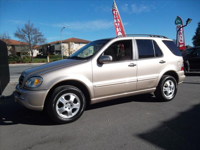 2002 MERCEDES-BENZ M-CLASS ML320 champagne -financing available we accept trade-inswe accept vi