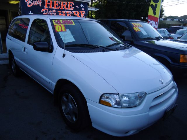 2001 NISSAN QUEST GXE white air conditioningalloy wheelsamfm radioanti-brake system non-abs