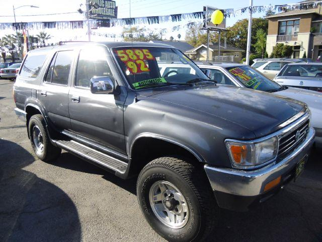 1992 TOYOTA 4RUNNER SR5 4WD gray 4wdawdabs brakesanti-brake system 2-wheel abs body style sp