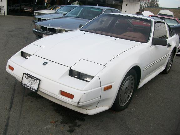 1986 NISSAN 300 ZX white 180000 miles VIN JN1CZ14S56X100717 
