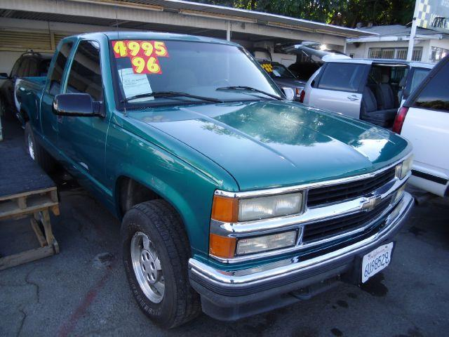 1996 CHEVROLET K1500 Z71 green 4wdawdabs brakesanti-brake system 2-wheel abs body style exte