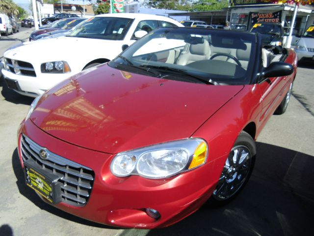 2006 CHRYSLER SEBRING LIMITED CONVERTIBLE red abs brakesair conditioningalloy wheelsamfm radio