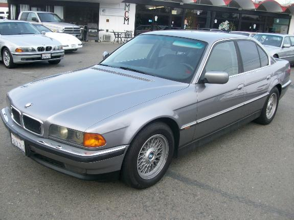 1995 BMW 7 SERIES 740I grey 179178 miles VIN WBAGF5320SDH00383 