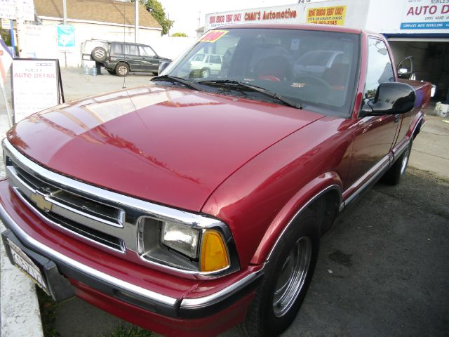 1994 CHEVROLET S10 LS REG CAB LONG BED 2WD maroon abs brakesanti-brake system 2-wheel absbody