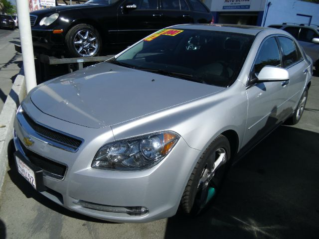 2012 CHEVROLET MALIBU LT silver 4 doorair conditioningalloy wheelsamfm radioantilock brakesa