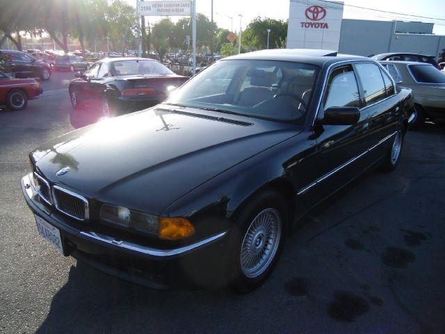 1998 BMW 7 SERIES 750IL green 4 doorair conditioningalloy wheelsamfm radioantilock brakesaut