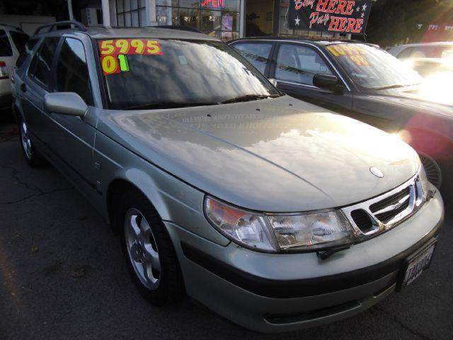 2001 SAAB 9-5 SE green abs brakesair conditioningalloy wheelsamfm radioanti-brake system 4-w
