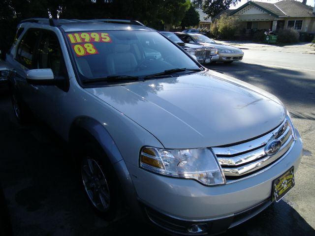 2008 FORD TAURUS X SEL AWD white 4wdawdabs brakesair conditioningalloy wheelsamfm radioanti