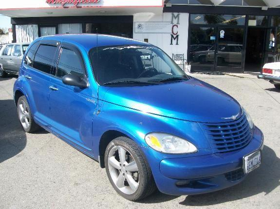 2003 CHRYSLER PT CRUISER GT blue 119766 miles VIN 3C4FY78G73T514979 