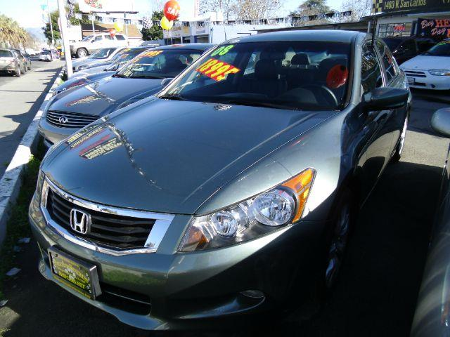 2008 HONDA ACCORD EX-L V-6 SEDAN AT green abs brakesair conditioningalloy wheelsamfm radioant