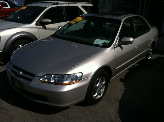 1999 HONDA ACCORD EX SEDAN silver abs brakesair conditioningalloy wheelsamfm radioanti-brake