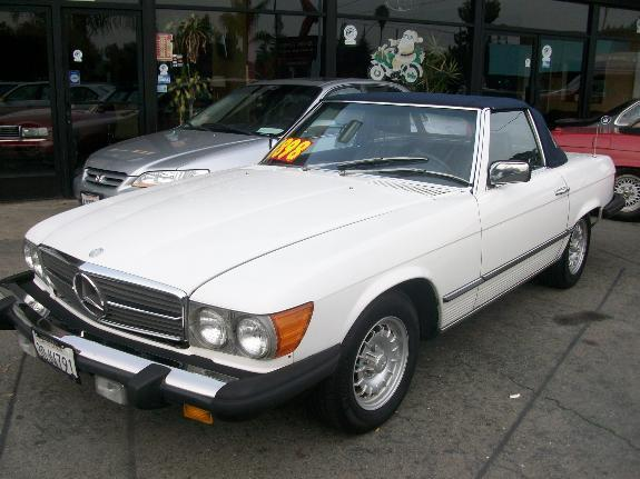 1983 MERCEDES-BENZ 380 380SL white 152487 miles VIN WDBBA45A8DB021301 