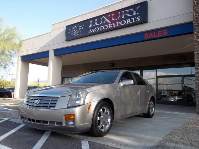 used 2003 cadillac cts for sale 2141 e bell rd phoenix az 85022 used cars for sale. Black Bedroom Furniture Sets. Home Design Ideas