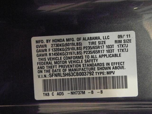 Image 89 of 2012 Honda Odyssey EX-L…