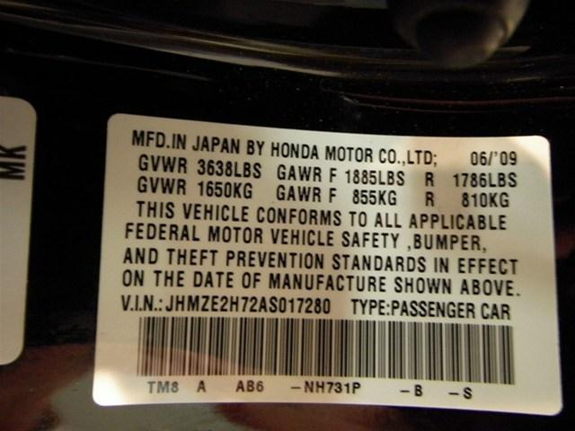 Image 108 of 2010 Honda Insight EX…