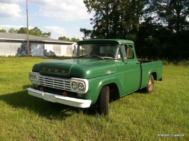 1959 Ford F100 Styleside
