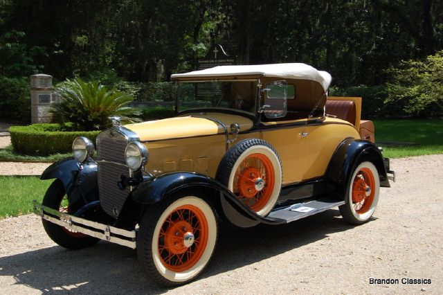 1930 Ford Model A Deluxe Rumble Seat Roadster