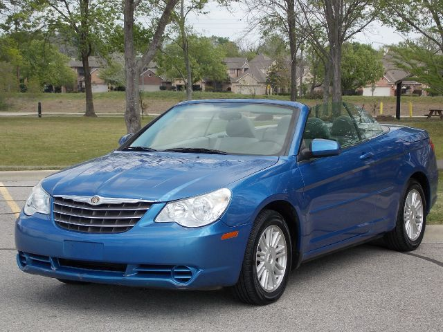2008 CHRYSLER SEBRING CONVERTIBLE TOURING blue abs brakesair conditioningalloy wheelsamfm radi