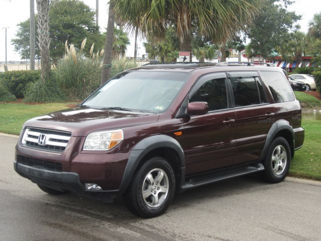 2008 HONDA PILOT SE maroon call us for a free vehicle history reportalso we have financing a