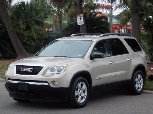 2007 GMC ACADIA SLE-1 FWD gold mist metallic  all internet prices are reduced for cash cashier