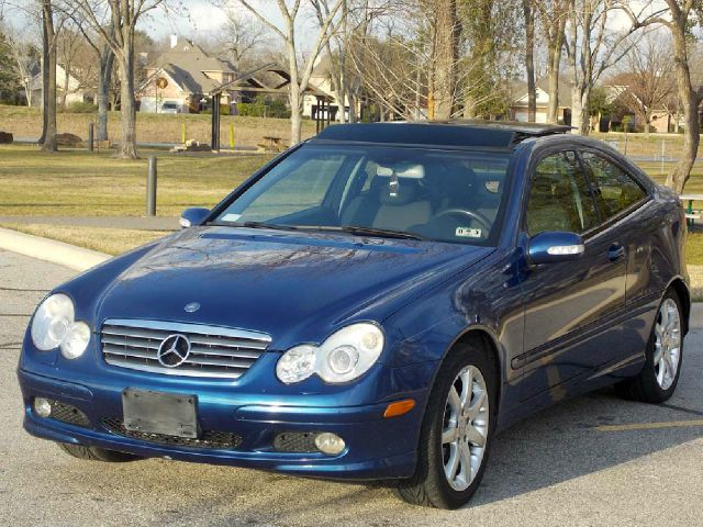 2004 MERCEDES-BENZ C-CLASS C230 SPORT COUPE blue  all internet prices are reduced for cash cas