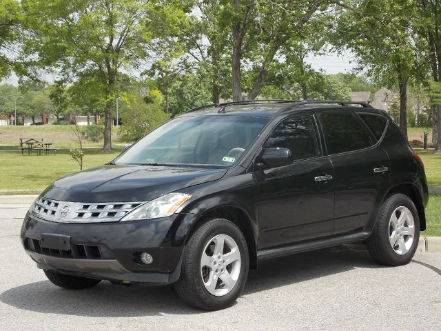 2004 NISSAN MURANO SL 2WD black  all internet prices are reduced for cash cashiers check or s