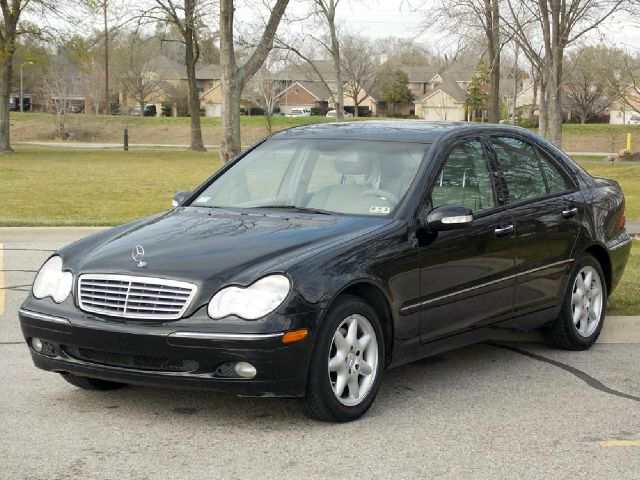 2002 MERCEDES-BENZ C-CLASS C320 SEDAN black  all internet prices are reduced for cash cashier