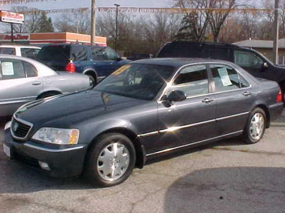 2003 acura rl 712 s green bay rd waukegan il 60085. Black Bedroom Furniture Sets. Home Design Ideas