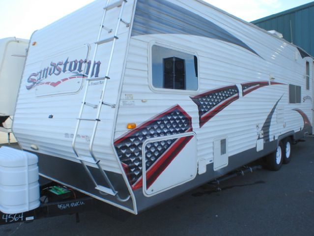 2008 FOREST RIVER SANDSTORM 29SP TOY HAULER