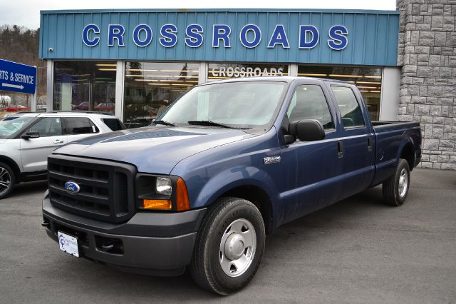 2007 FORD F250 XL CREW CAB 2WD medium wedgewood blue only 34k miles 2007 ford f-250 xl 2wd g
