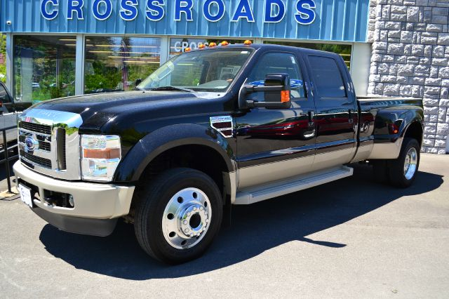 2008 FORD F450 KING RANCH LARIAT CREW CAB 4WD tuxedo black 2008 ford f-450 lariat king ranch 4x4
