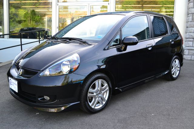 2008 HONDA FIT SPORT black 2008 honda fit sport power windows locks and mirrors air conditi
