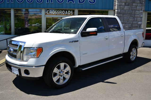 2011 FORD F150 LARIAT SUPERCREW 4WD white platinum metallic 2011 ford f-150 lariat 4x4 supercrew