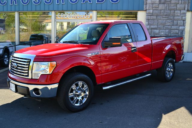 2010 FORD F150 XLT SUPERCAB 4WD red work-ready 2010 ford f-150 xlt supercab 4x4 39k carefully