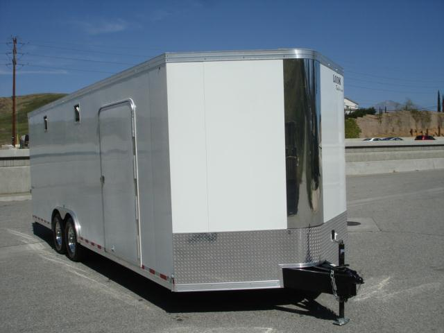2013 LOOK TRAILERS VISION RACE TRAILER FOR SALE 102X24  HIGH QUALITY RACE T