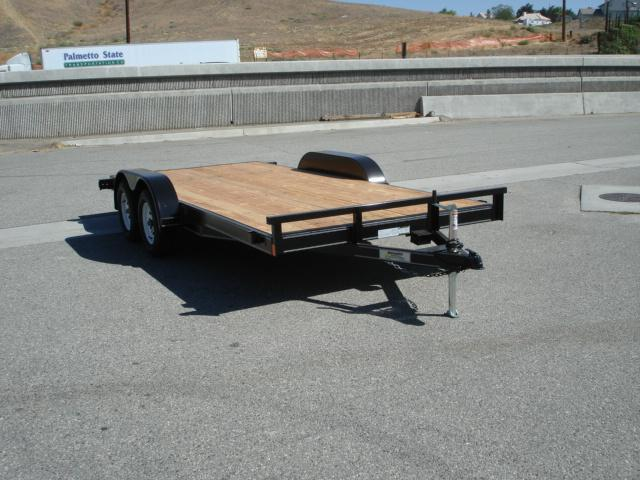 2013 INNOVATIVE TRAILERS 16ft Wood Deck Car Trailer - REDLANDS, CA