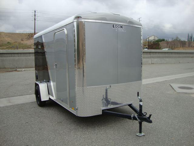 2013 LOOK TRAILERS VISION 6X12 2-TONE ENCLOSED BIKE TRAILER - REDLANDS, CA