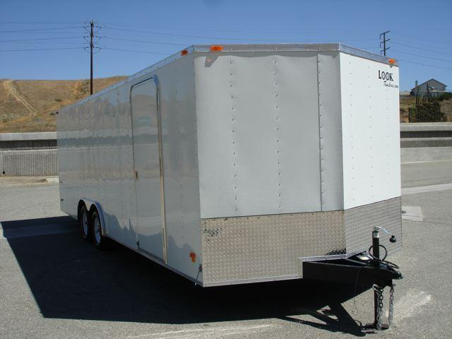 2014 LOOK TRAILER V-nose 24  Car Trailer - REDLANDS, CA