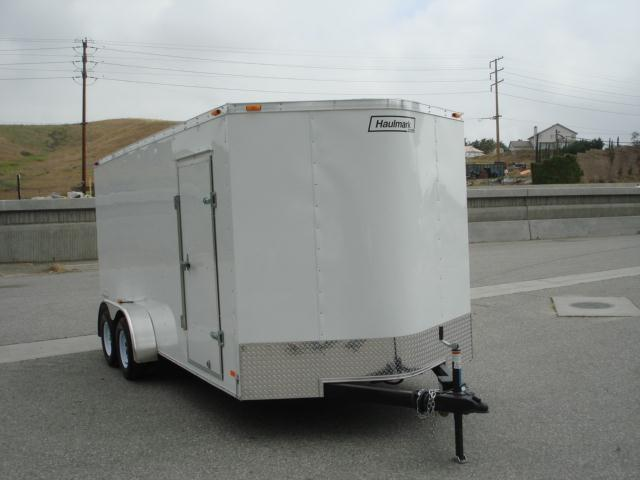 2013 HAULMARK TRAILER FOR SALE 7X16 RAMP DOOR, SIDE DOOR TRAILER FOR SALE -