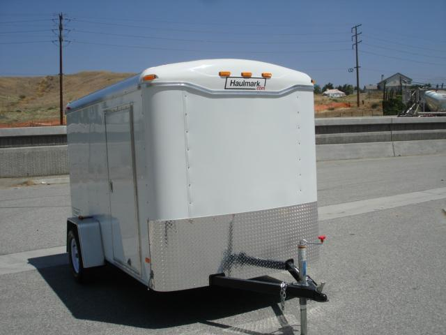 2013 HAULMARK TRAILER 6X10 Box Trailer For Sale - REDLANDS, CA