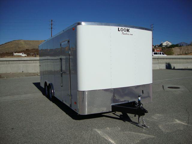 2013 LOOK TRAILERS STLA85X20TE2 / 20FT WIDE BODY TOY/ CAR HAULER - REDLANDS